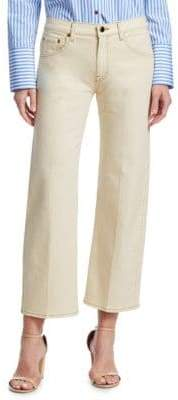 Wendell Cropped Wide-Leg Jeans