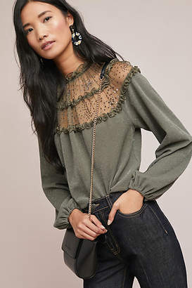 Ranna Gill Bowen Ruffled Top