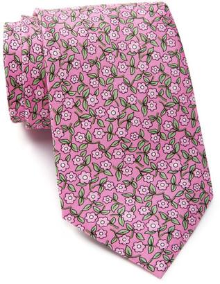 TailorByrd Silk Floral Print Tie $49.50 thestylecure.com