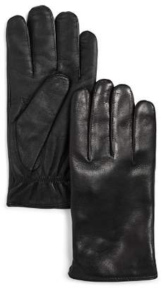 Bloomingdale's The Men's Store at Cashmere-Lined Basic Tech Gloves