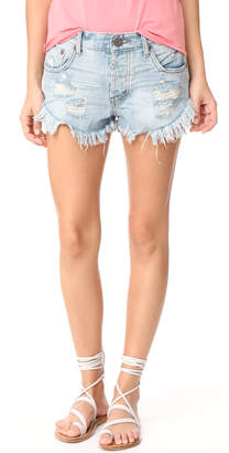 One Teaspoon Brandos Shorts $105 thestylecure.com