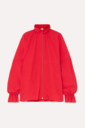 Vetements Embroidered Shell Jacket