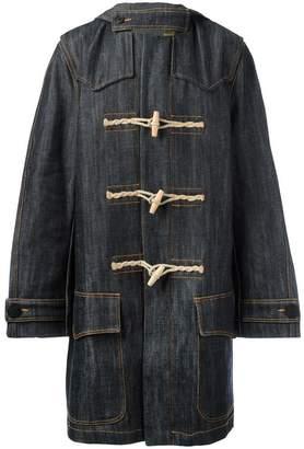 Faith Connexion denim duffle coat