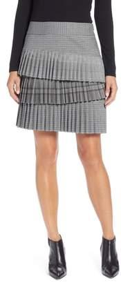 Halogen Layered Pleated Skirt
