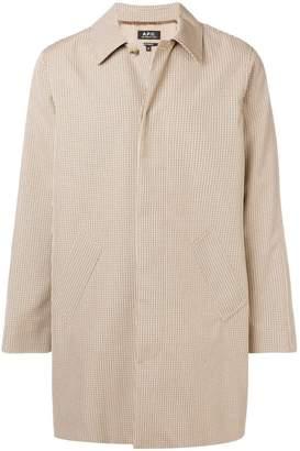 A.P.C. oversized overcoat