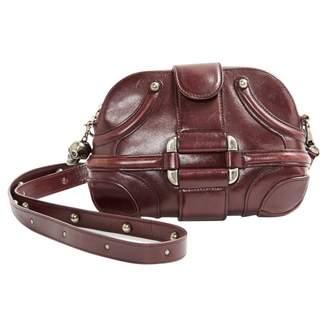 Alexander McQueen Leather mini bag