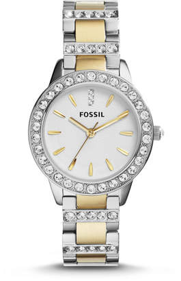 Fossil Analog White Dial Watch