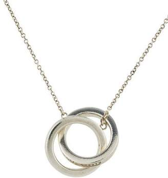 Tiffany & Co. 1837 Sterling Silver Interlocking Circles Pendant Necklace