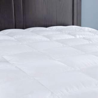 Puredown Down Mattress Pad/Topper, Quilted 100% Cotton Top, Block Bed Bugs and Dust Mites,King Size