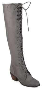 Journee Collection Bazel Over The Knee Combat Boot