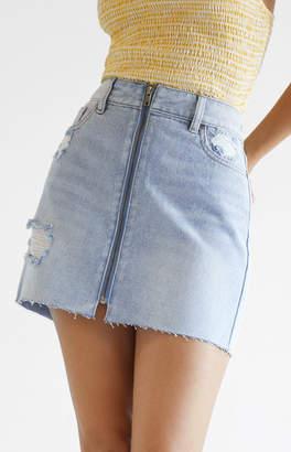 Pacsun Zip Front Skirt