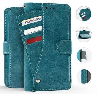 LG Electronics Zizo Slide Out Wallet Pouch Stylo 4 - Lightweight Wallet Case w/ Credit Card and ID Holder