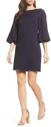 Eliza J Puff Sleeve Shift Dress