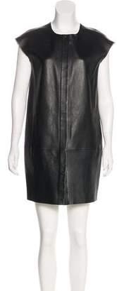 J Brand Leather Mini Dress