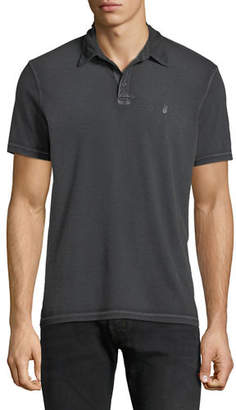 John Varvatos Men's Pigment Rub Peace Polo Shirt