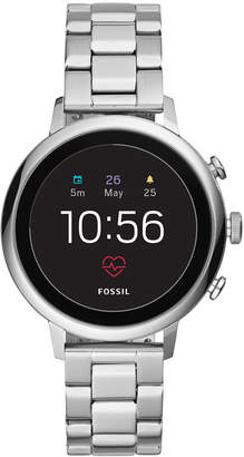 Fossil New Q Women's Venture Gen 4 Hr Stainless Steel Bracelet Touchscreen Smart Watch 40mm