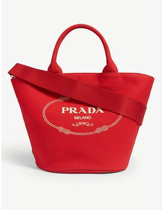 59595946ba7af8 Prada Canvas Handbags - ShopStyle