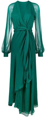 Haney Coco Full Length Chiffon Dress