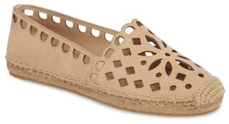 Tory Burch May Perforated Espadrille Flat (Women)