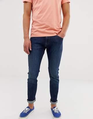 Wrangler bryson skinny fit jeans in dark bower wash