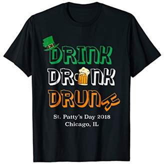 DAY Birger et Mikkelsen Chicago St Patricks Shirt 2018 St Patty Shirt Beer