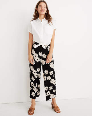 Madewell Tall Huston Pull-On Crop Pants in Ikat Floral