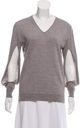 Nina Ricci Mélange Wool Sweater