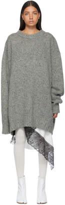 Maison Margiela Grey Gauge 3 Sweater
