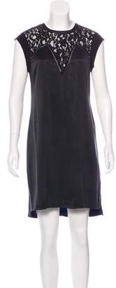 Rebecca Taylor Sleeveless Shift Dress
