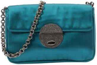 Prada Blue Silk Clutch Bag