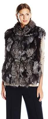 Vince Women's Fur Vest $553.63 thestylecure.com