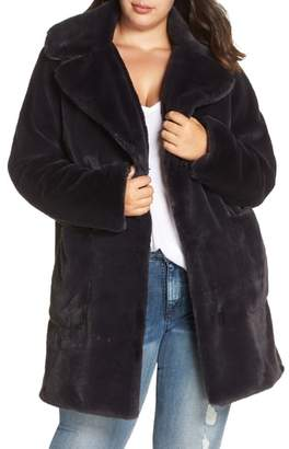 Rachel Roy Faux Fur Coat