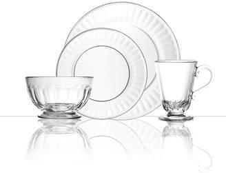 La Rochere Perigord 24 Piece Glass Dinner Set, Service for 6