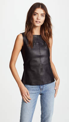 Mackage Sierra Leather Top