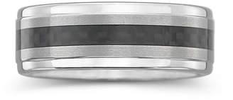 MODERN BRIDE Tungsten Wedding Band, Mens 8mm Comfort Fit