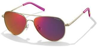 Polaroid Sunglasses Women's Pld6012n Polarized Aviator