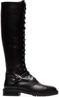 Tabitha Simmons Alfri 20 Leather Knee High Boots