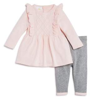 Bloomingdale's Bloomie's Girls' Ruffled Sweater Tunic & Knit Leggings Set, Baby - 100% Exclusive