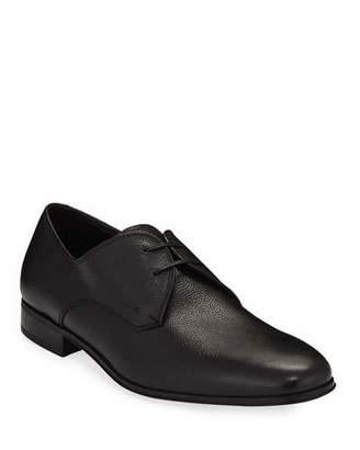 Salvatore Ferragamo Men's Calf Leather Dress Oxford, Black