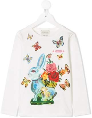 Gucci Kids long-sleeve printed T-shirt