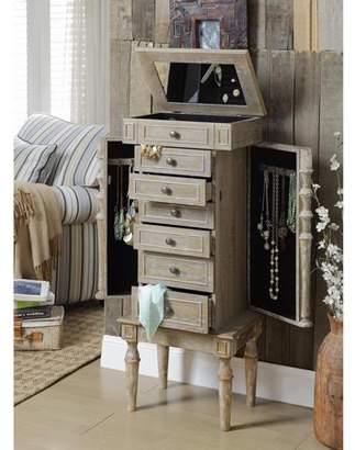 ACME Furniture ACME Taline Jewelry Armoire, Weathered Oak