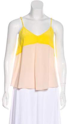 Madison Marcus Sleeveless Silk Top