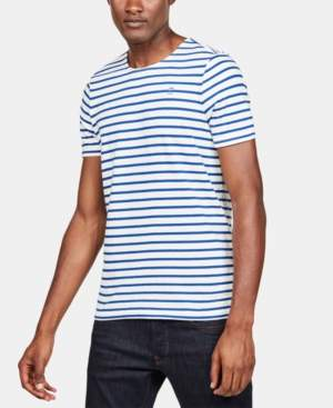 G Star Raw Men's Striped T-Shirt, Created for Macy's