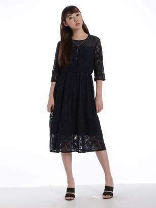 Lilou de chouchou (リル デ シュシュ) - リルデシュシュ コードレース配色ドレス