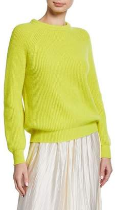 Forte Forte Wool-Cashmere Round-Neck Sweater