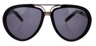DSQUARED2 Tinted Aviator Sunglasses