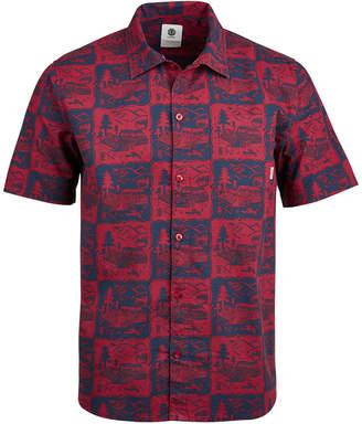 Element Men's Proper Living Graphic Pocket Shirt