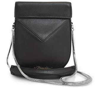 3.1 Phillip Lim Black Leather Soleil Mini Case