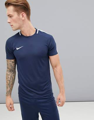 9048037c95a26 Nike Football Dry Academy T-Shirt In Navy 832967-451