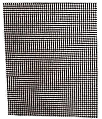 "Checkered Rug 14' x 11'9"""